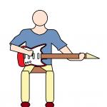 エレキギターの弾き方 初心者編!1ページで分かる10の基本