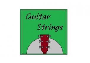 ギター弦イラスト