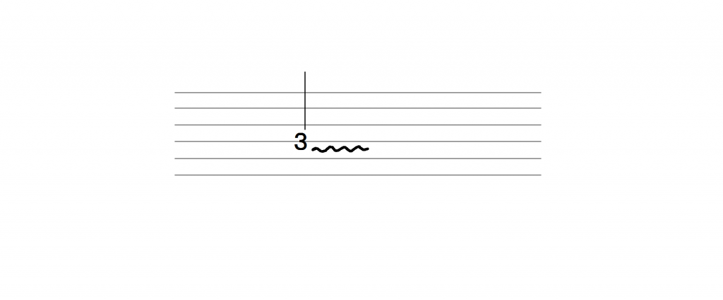 エレキギター ビブラート