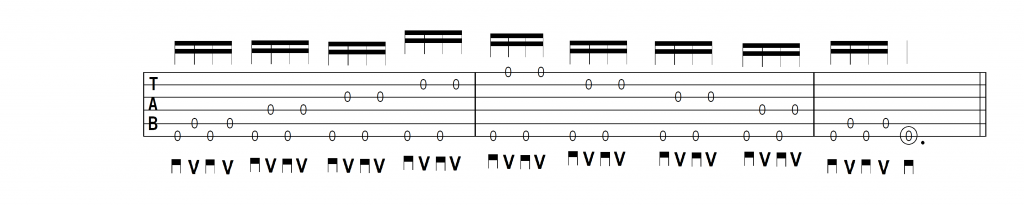 ギター初心者練習