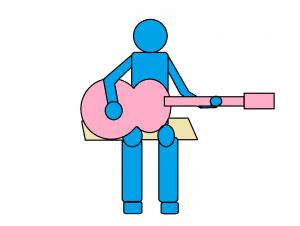 ギターの弾き方